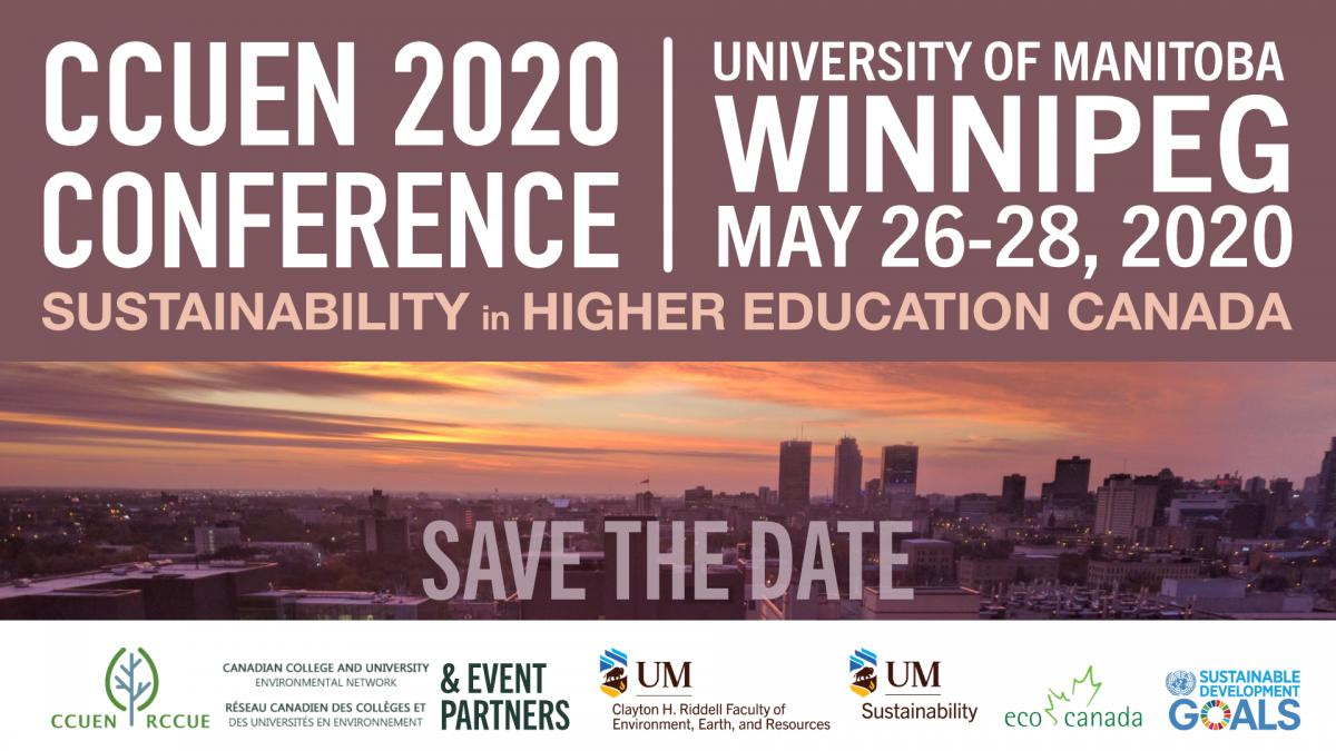 Canadian College & University Environmental Network (CCUEN) 2020 Conference
